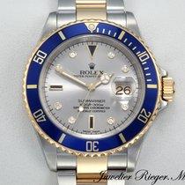Rolex Submariner Date 16613 T Sultan Stahl Gelbgold 750