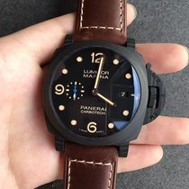Panerai Luminor Marina 1950 3 Days Automatic PAM00661 Panerai LUMINOR Carbonio Nero Marrone 44mm nouveau