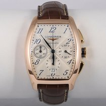 Longines pre-owned Automatic 40mm Champagne Sapphire Glass