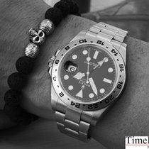 Rolex Explorer II  ZB schwarz 216570 perfektes Fullset aus 2014