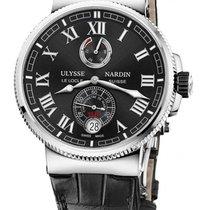 Ulysse Nardin Marine Chronometer Manufacture Сталь 43mm Чёрный Римские Россия, Москва