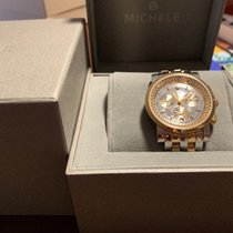 Michele 38mm Quartz 2014 pre-owned Sport Sail Mother of pearl