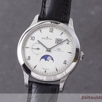 Zenith Steel 40mm Automatic 03/16 1125691 pre-owned