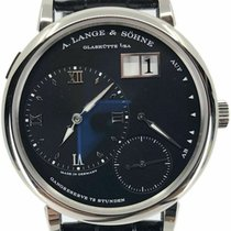 A. Lange & Söhne White gold Manual winding Black Roman numerals 40.9mm pre-owned Grand Lange 1