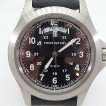Hamilton Khaki Field King Steel 40 mmmm Arabic numerals