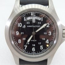 Hamilton Khaki Field King pre-owned 40 mmmm Steel