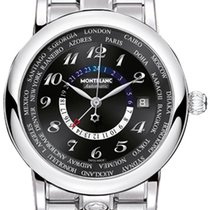 Montblanc Star Steel 42mm Black Arabic numerals United States of America, California, Moorpark