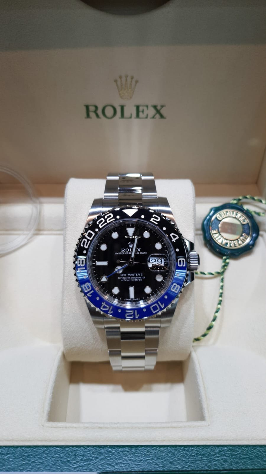 Rolex GMT,Master II batman new 2019 for $18,616 for sale