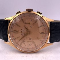 Chronographe Suisse Cie Chronograaf 43mm Handopwind 1940 Roze