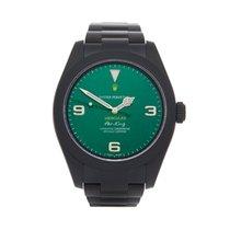 Rolex Air King Steel 40mm Green Arabic numerals United Kingdom, Bishop's Stortford