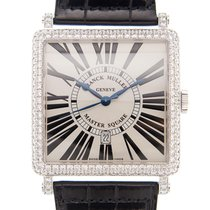 Franck Muller Master Square White gold 42.4mm Silver