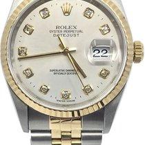 Rolex Datejust Acero y oro 36mm Sin cifras