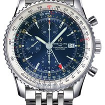 Breitling Navitimer GMT Steel 46mm Blue United States of America, New York, Airmont