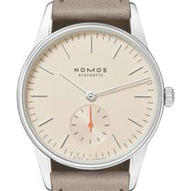 NOMOS Orion 33 Steel 32.8mm Champagne