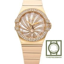 Omega Red gold Automatic Mother of pearl 31mm new Constellation Ladies