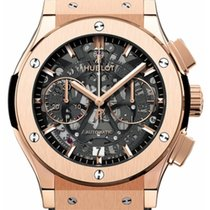Hublot Classic Fusion Aerofusion Rose gold 45mm Transparent No numerals United States of America, New Jersey, Princeton