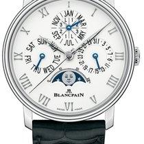 Blancpain Villeret Steel 40mm White Roman numerals