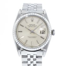 Rolex Datejust pre-owned 38mm Silver Date Steel