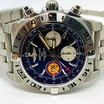 Breitling Chronomat 44 GMT Zeljezo 44mm Crn