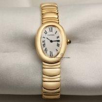 Cartier Baignoire Жёлтое золото 22.5mm