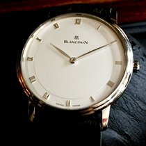 Blancpain Or blanc 40mm Remontage automatique 4053-1542 -55 occasion France, Paris