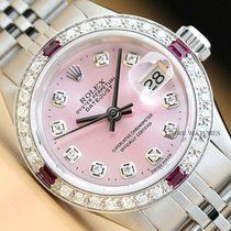 Rolex Lady-Datejust Otel 26mm Roz