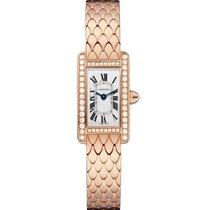 Cartier Tank Américaine new 2020 Quartz Watch with original box and original papers WB710012