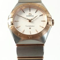 Omega Constellation 131.20.28.60.02.001 Ny Guld/Stål 28mm Kvarts