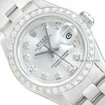 Rolex Oyster Perpetual Lady Date Otel 26mm Argint