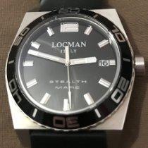 Locman Titanium 44mm Quartz 211 pre-owned