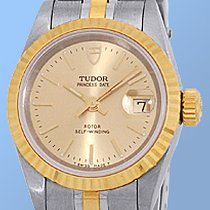 Tudor Certified Pre-Owned Stainless Steel & Yellow Gold Rolex-...