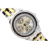 Breitling Chronographe Men's White Mother Of Pearl Dial...