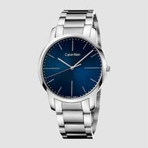 ck Calvin Klein Men's K2G2G1ZN City Blue Polished/Brushed 43...