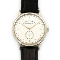 A. Lange & Söhne White Gold Saxonia Watch Ref. 216.026