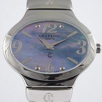 Charriol Damenuhr 32mm Quarz gebraucht Uhr mit Original-Box und Original-Papieren 2011