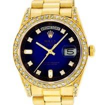 Rolex (ロレックス) デイデイト 36 イエローゴールド 36mm ブルー