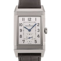 Jaeger-LeCoultre Reverso Classic Large 46mm Silver Dial Black...