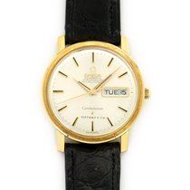 Omega Constellation Day-Date Yellow gold 35mm Silver