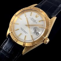 Rolex Or jaune Remontage automatique Sans chiffres 36mm occasion Datejust Turn-O-Graph