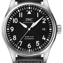 IWC Pilot Mark Steel 40mm Black United States of America, New York, Airmont