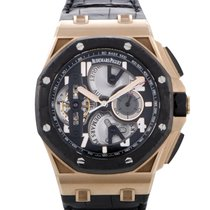 Audemars Piguet Royal Oak Offshore Tourbillon Chronograph 44mm Černá