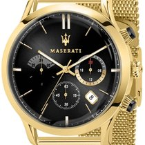 Maserati Gold/Steel 42mm Quartz R8873633003 new