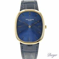 Patek Philippe Golden Ellipse Geelgoud 30.8mm Blauw Nederland, Maastricht