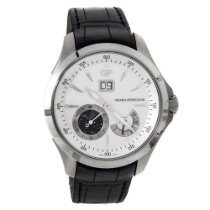 Girard Perregaux Traveller Steel 44mm Silver No numerals United States of America, New York, NYC