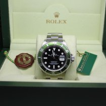 Rolex 16610LV Steel 2006 Submariner Date 40mm pre-owned