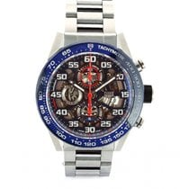 TAG Heuer Carrera Calibre HEUER 01 Steel 45mm Blue