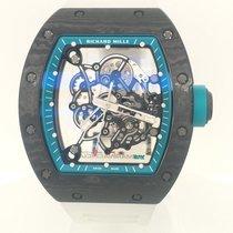 Richard Mille RM 055 Carbon 49mm Proziran Bez brojeva