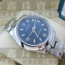 Rolex Oyster Perpetual 31 ROLEX 勞力士 Oyster Perpetual 177200 藍色面盤 31mm 中性腕錶 m0634 2010 pre-owned