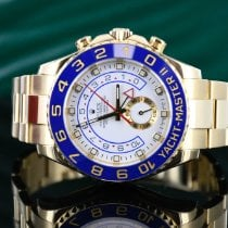 Rolex Yacht-Master II pre-owned 44mm White Yellow gold