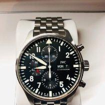 IWC Pilot Chronograph Acél 43mm Fekete Arab Magyarország, Sopron